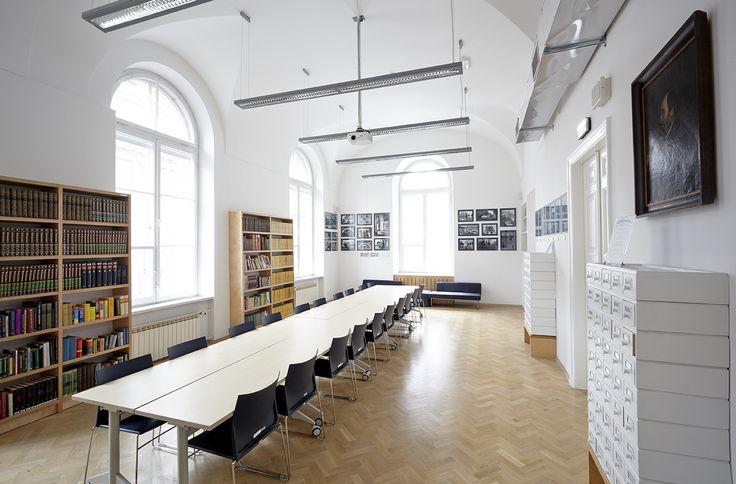 Czytelnia, Biblioteka -Państwowe Muzeum Etnograficzne w Warszawie.// Library, State Ethnographic Museum in Warsaw fot. M. Przeździk