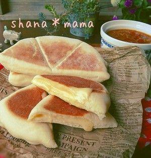 フライパンで作る、お手軽&簡単「チーズナン(チーズクルチャ)」