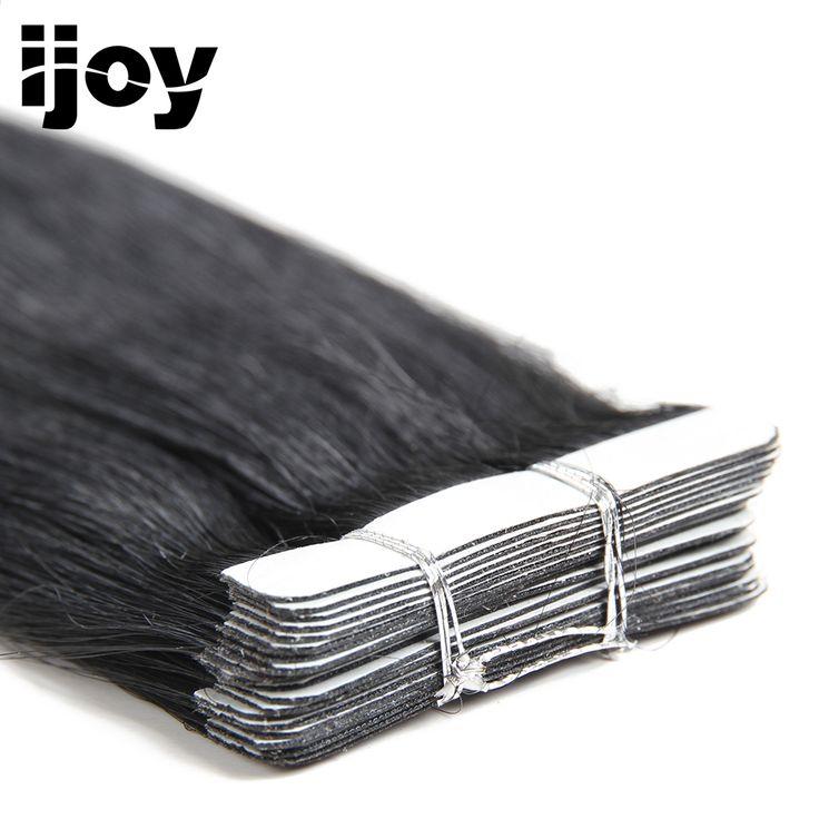 IJOY 40G 2G / stk Remy Straight brasiliansk hår 1…