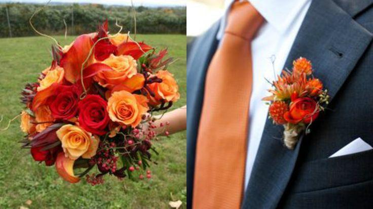 La pallet perfetta per fine autunno! arancio, marrone, verde oliva! #pallet #bouquet #matrimonioautunno #whitewedding #whiteweddingitaly