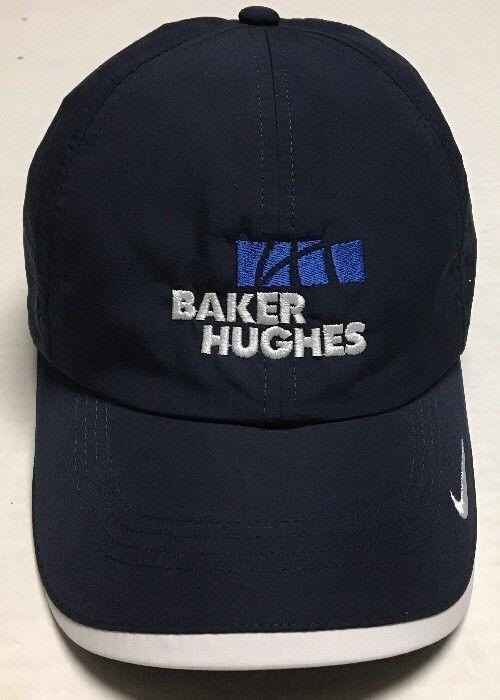 Baker Hughes Hat Nike Golf Baseball Cap Oilfield Oil Gas Houston Texas  Energy TX  NikeGolf  BaseballCap dd490a724286