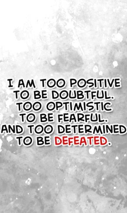 Positive Mantra