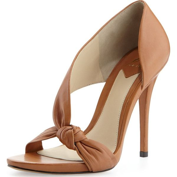 BRIAN ATWOOD Nude Sandals perfect for dark skin tones. Find more at Nudevotion.com #darknude