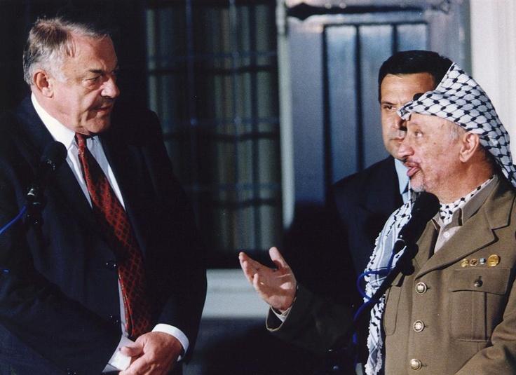 In 1995 bezocht de Palestijnse leider Yasser Arafat Nederland.