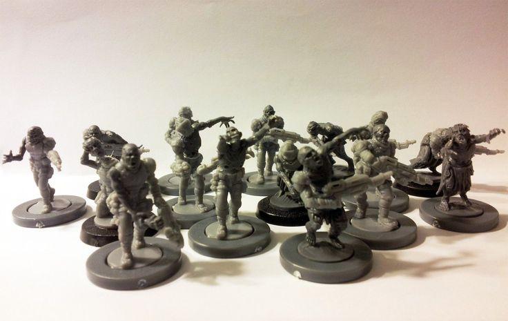 Warpath MGZOA01 Zombie Apokalypse 33 28mm Miniatures Apocalypse Marines Undead | eBay