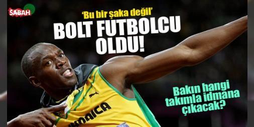 """Usain Bolt futbolcu oldu! : Rekortmen atlet Usain Bolt Borussia Dortmundla antrenmana çıkacağı bildirildi. Konuyla ilgili açıklama yapan Alman kulübünün üst yöneticisi """"Bu bir şaka değil"""" dedi.  http://www.haberdex.com/spor/Usain-Bolt-futbolcu-oldu-/80472?kaynak=feeds #Spor   #Bolt #Usain #kulübü #Alman #yapan"""