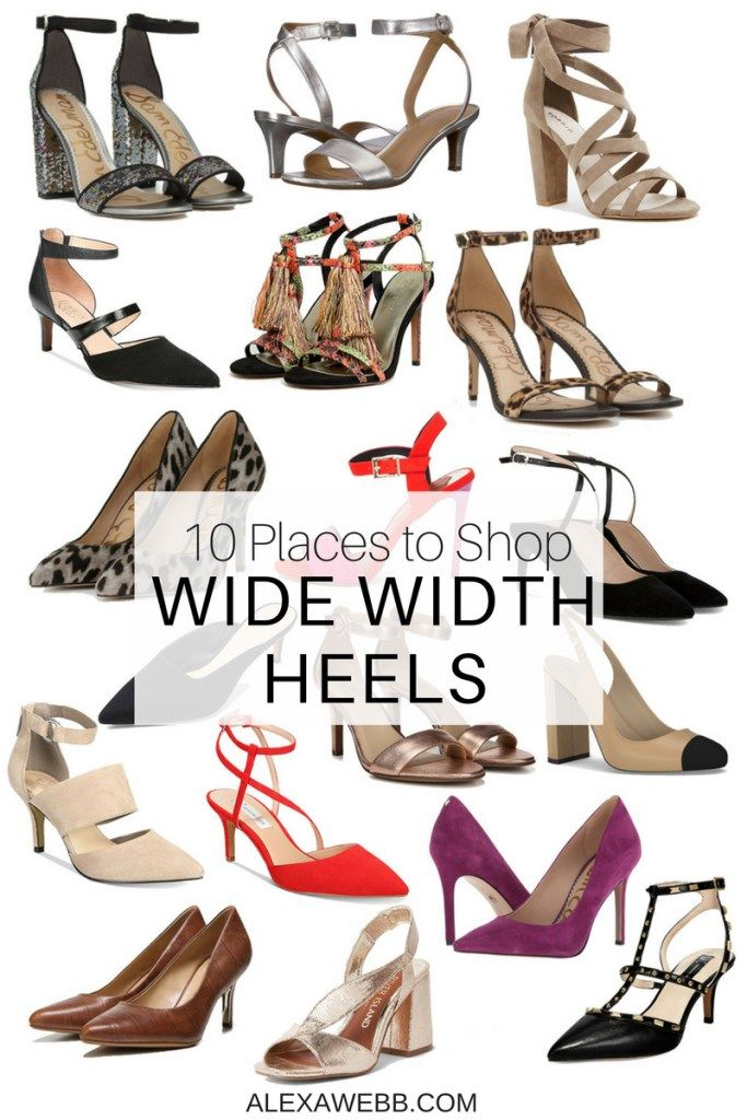 10 Places to Shop Wide Width Heels | דני שובבני | Wide dress shoes ...
