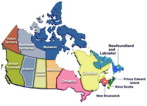 Best Canada Mapa Ideas On Pinterest - Canada mapa