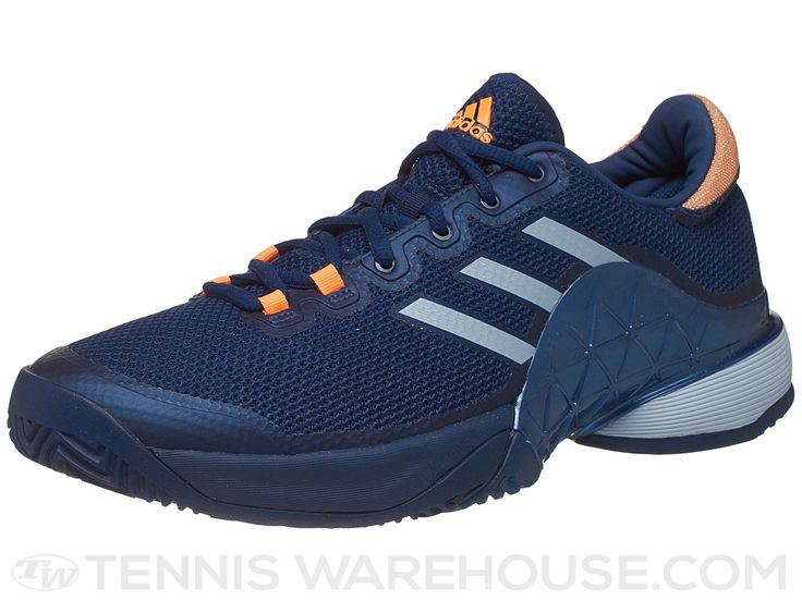 adidas Barricade 17 Blue/Orange Men's Shoe