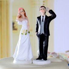 [US$ 14.99] Jeune mariée et Marié Résine Mariage Décoration pour gâteaux (122036178)