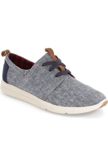 TOMS 'Del Rey' Sneaker (Women) available at #Nordstrom                                                                                                                                                                                 More