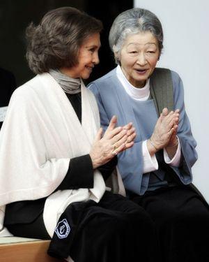 Empress Michiko and Queen Sofia