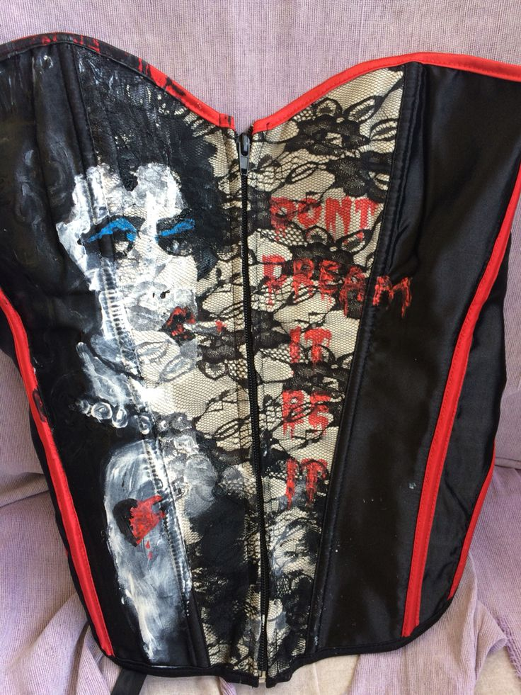 Rocky horror - frank'n'furter corset. Finished today