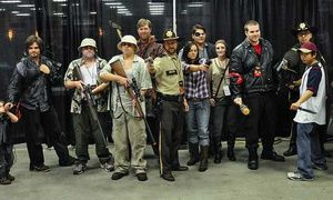 Groupon - Walker Stalker Con 2014 at The Atlanta Convention Center at AmericasMart on October 17 or 19 (Up to 50% Off) in The Atlanta Convention Center at AmericasMart. Groupon deal price: $19