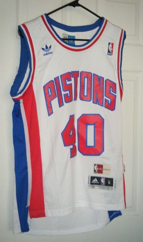 best sneakers 94ef5 8d657 Detroit Pistons NBA Bill Laimbeer Adidas Hardwood Classics ...