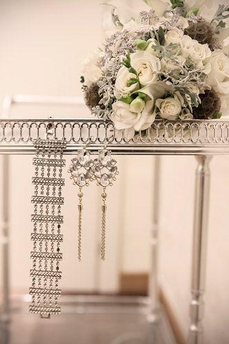 Gallery   Miss Wedding Design gioielli vintage anni 20, bouquet di spille antiche, cristal swarovski