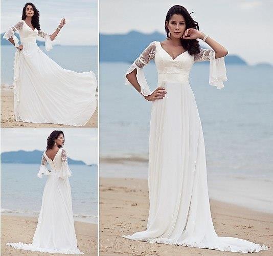 Платье на пляж свадьба