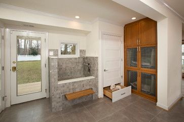 Dog Friendly Remodel transitional-entry