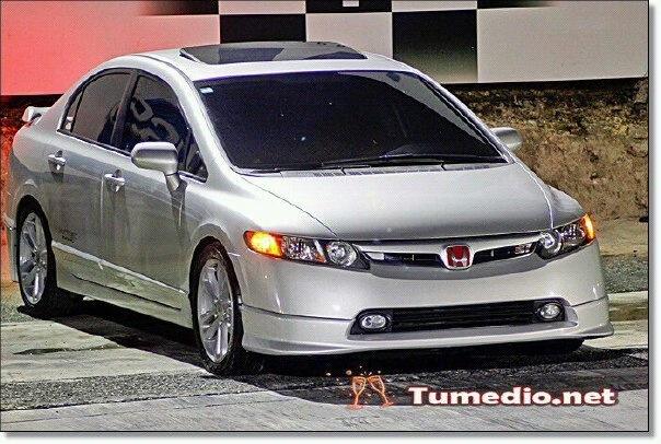 Honda Civic Si 2007 Drag.