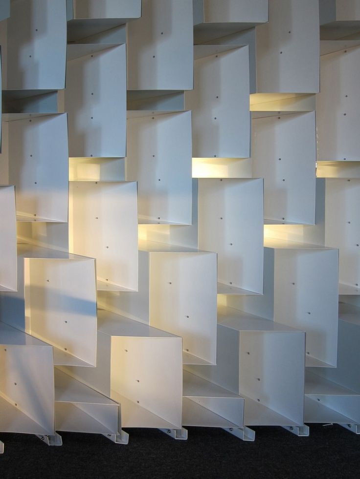 Book Case Screen Wall by Iwamoto Scott Architecture.