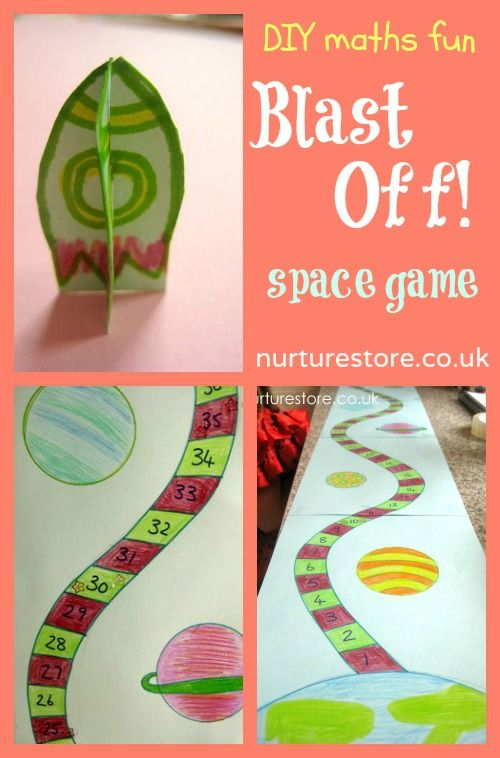 5, 4, 3, 2, 1....Blast Off! Here's a DIY space game and a whole lot of fun ideas to celebrate World Space Week.