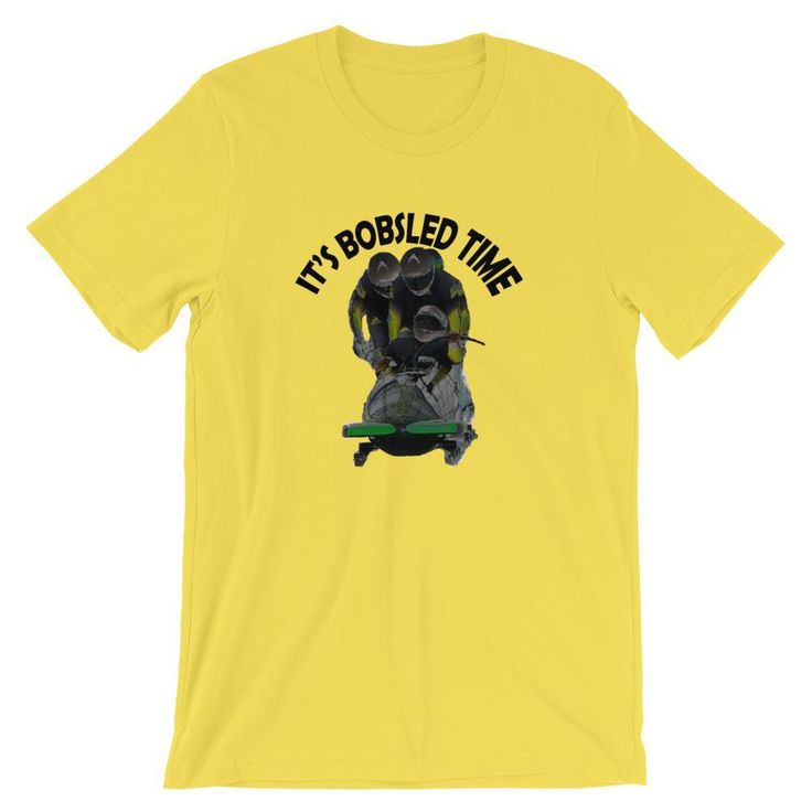 Jamaica Olympics Bobsled Shirt - It's Bobsled Time, 1988 Olympics