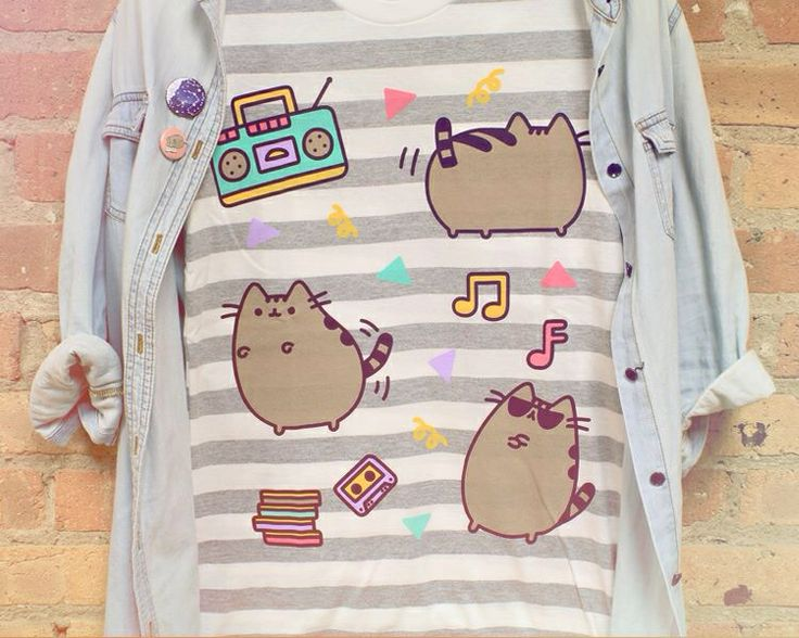 Pusheen clothes! From Hey Chickadee!