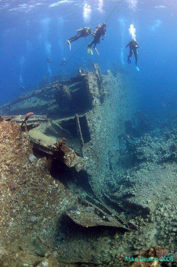 Wreck Diving in Egypt - the Chrisoula K