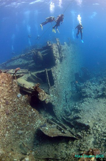 Wreck Diving in Egypt - the Chrisoula K