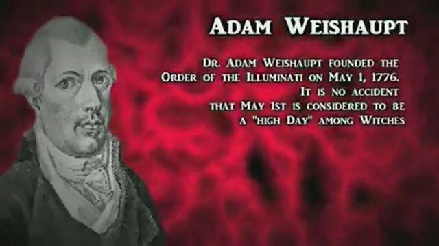 Adam Weishaupt founded the Order of Illuminati on May 1, 1776 - High Day among the witches