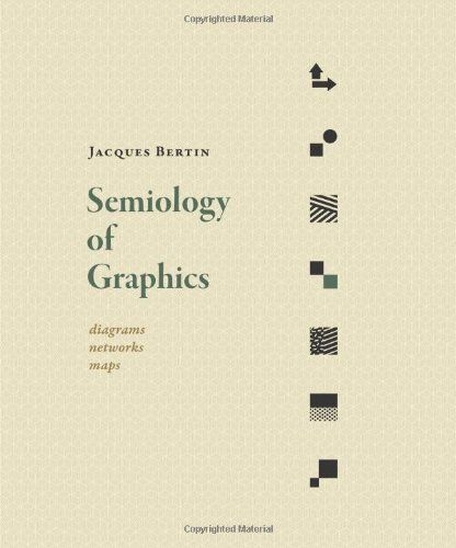 Semiology Of Graphics  Diagrams  Networks  Maps By Jacques Bertin        Amazon Com  Dp