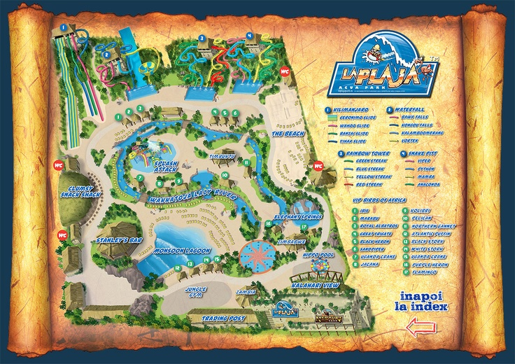 web design site prezentare parc acvatic