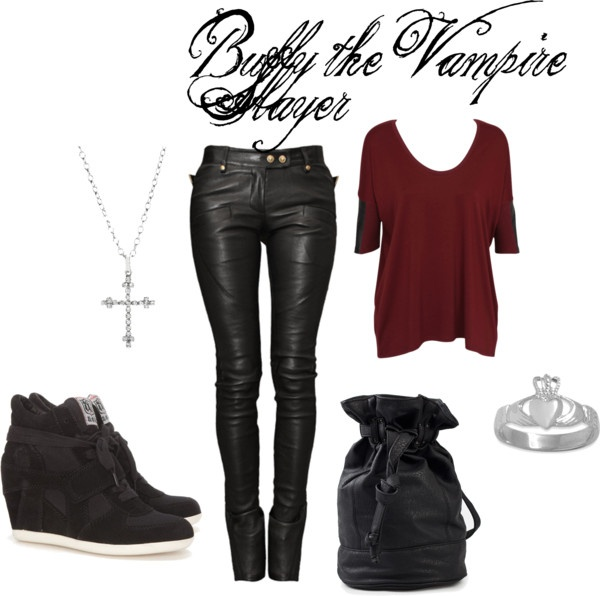 """Buffy the Vampire Slayer"" by meisham on Polyvore"