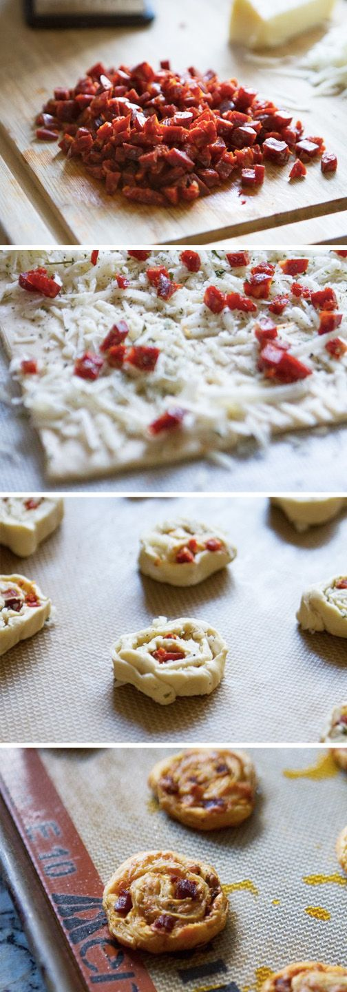 Make your next family fiesta memorable with a little help from Kroger's Taste of Spain! Whip up a batch of these homemade Chorizo Manchego Pinwheels to spice up your appetizer spread. This warm and cheesy recipe is perfect for feeding a large crowd.