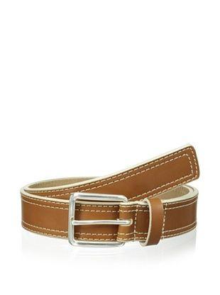 50% OFF Cafe Bleu Men's Casual Belt (Walnut)