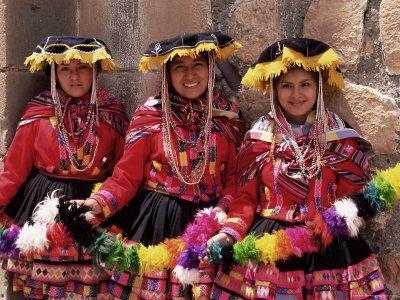 Peruvian traditional costume