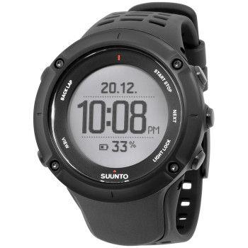 Suunto Men's Watch GPS Heart Rate Monitor Black SS020674000 Men's Sport Watch-Certified Watch Store