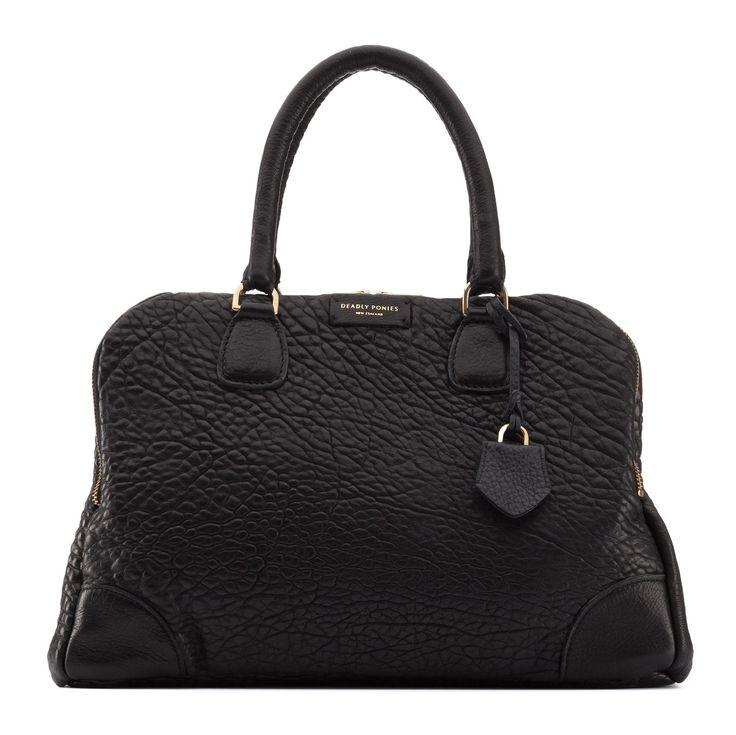 Mr Molten Black Handbag