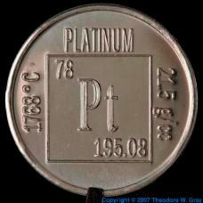 Pictures, stories, and facts about the element Platinum in the Periodic Table