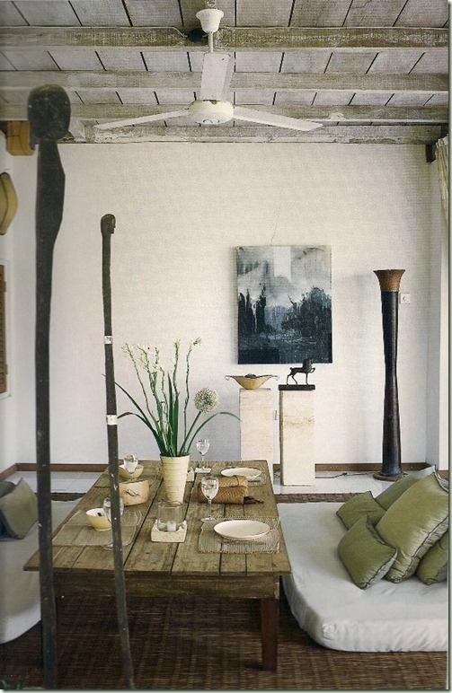 Simple Bali Home Interior