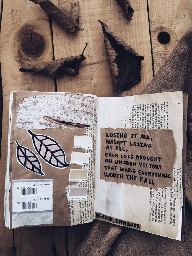 best art journal entries from the month of November with poetry by Noor  Unnhar. This post is full of artsy and aesthetically pleasing photos and  journal ...