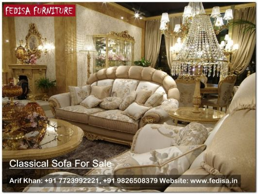 Superbe Best Leather Furniture Manufacturers, Classic Sofa Set, Traditional Sofa |  Fedisa