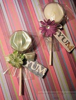 Can repurpose wedding votives..........cute idea!