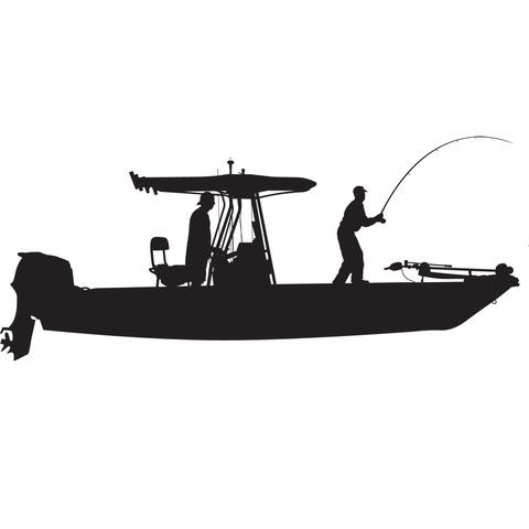 Best FISHING DECALS Images On Pinterest Decals Fishing And - Decals for boats australiaboat wrapsbonza graphics australia