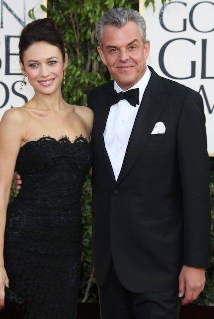 French model and actress, Olga Kurylenko and her boyfriend Danny Huston...