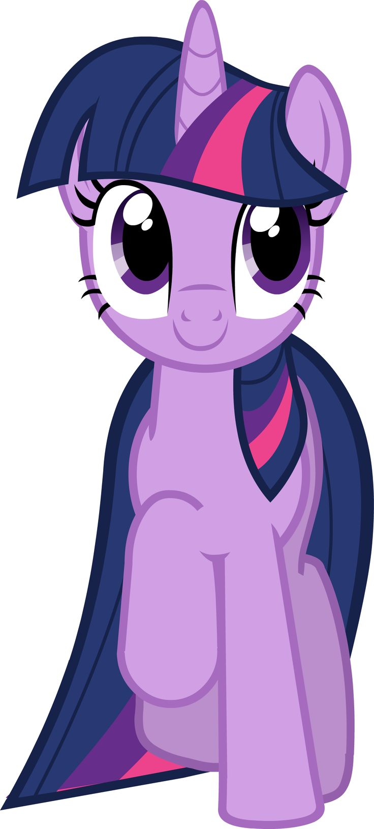 "Twilight Sparkle Vector - Smile Parade with the Mane 6 from ""A Friend in Deed"""