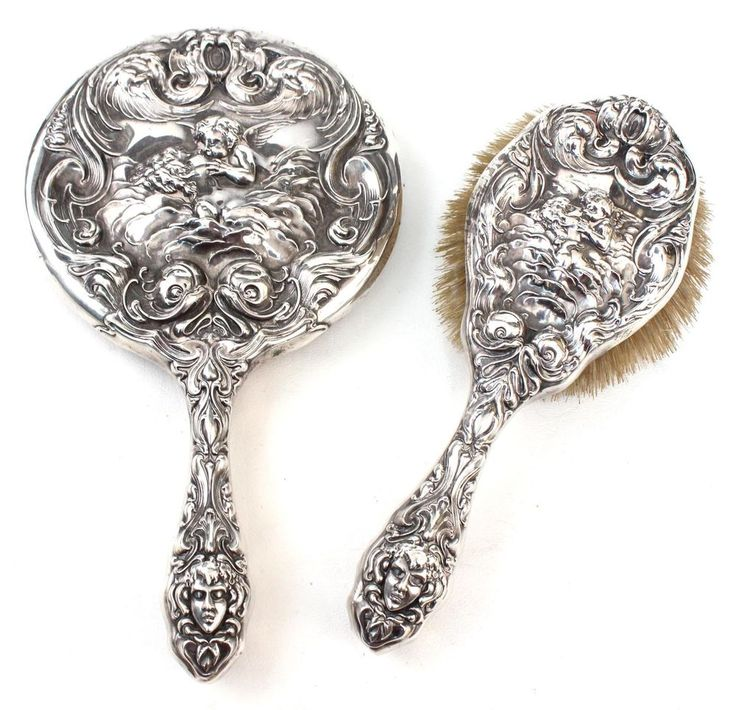 1000 Images About Hand Mirrors Sterling Amp Others On