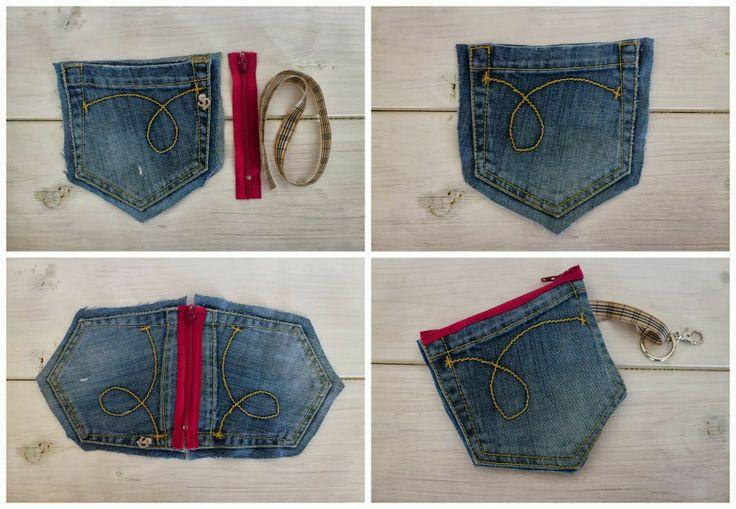 riciclo  jeans - La bustina