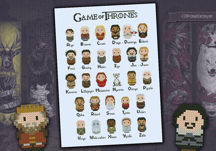 Game of thrones Cross Stitch!