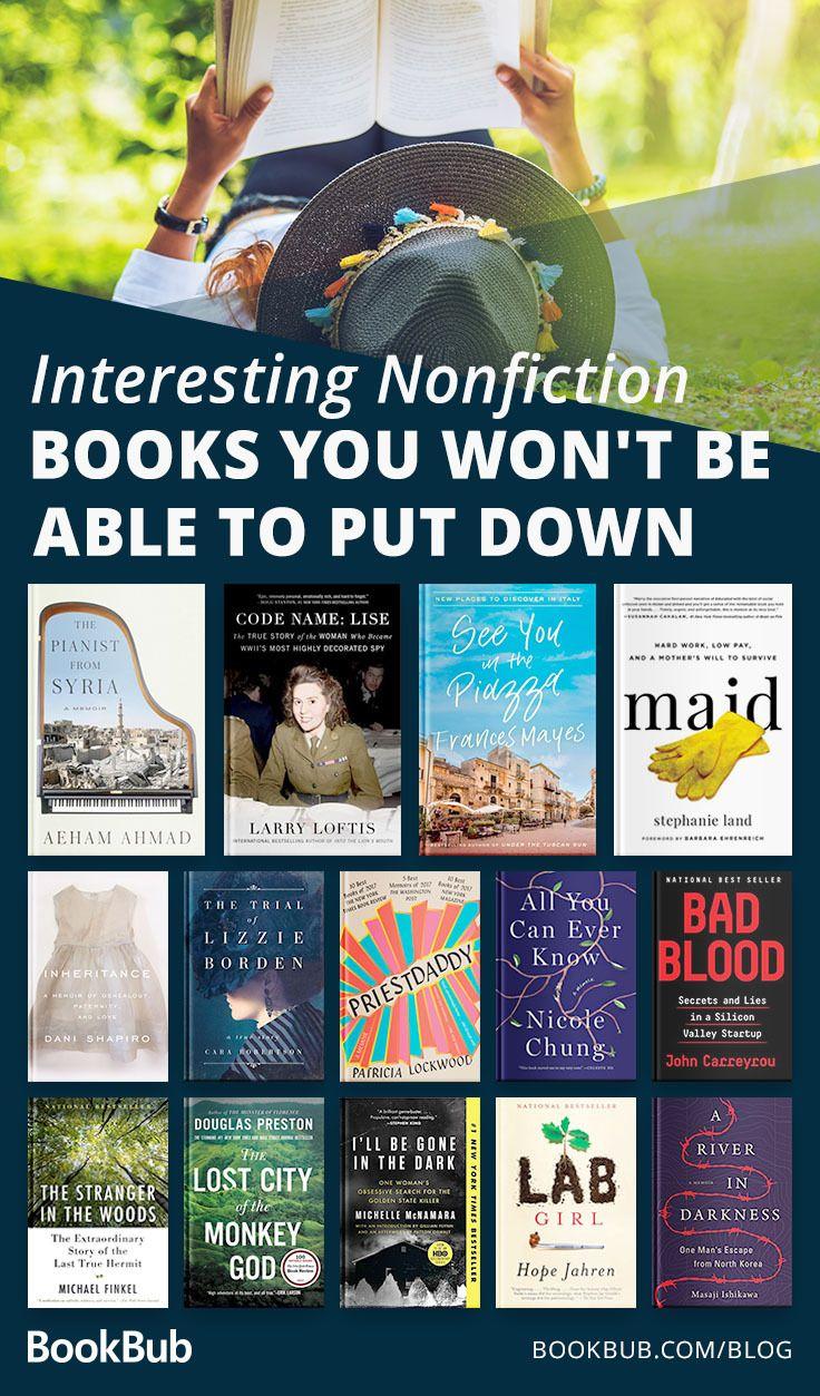 14 Nonfiction Books You Won T Believe Are True Book Club Books Nonfiction Books Inspirational Books